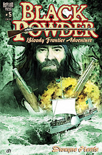 Black Powder #5 Cover