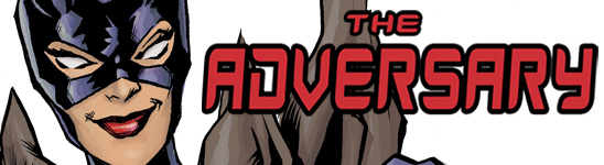 The Adversary banner