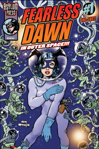 Fearless Dawn in Outer Space Cover