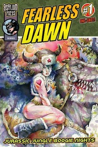 Fearless Dawn: Jurassic Jungle Boogie Nights Cover