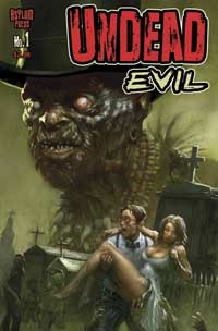 Undead Evil 1 Cover