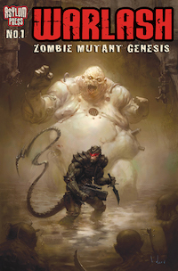 Warlash Zombie Mutant Genesis 1 Cover