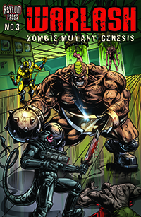 Warlash Zombie Mutant Genesis 3 Cover